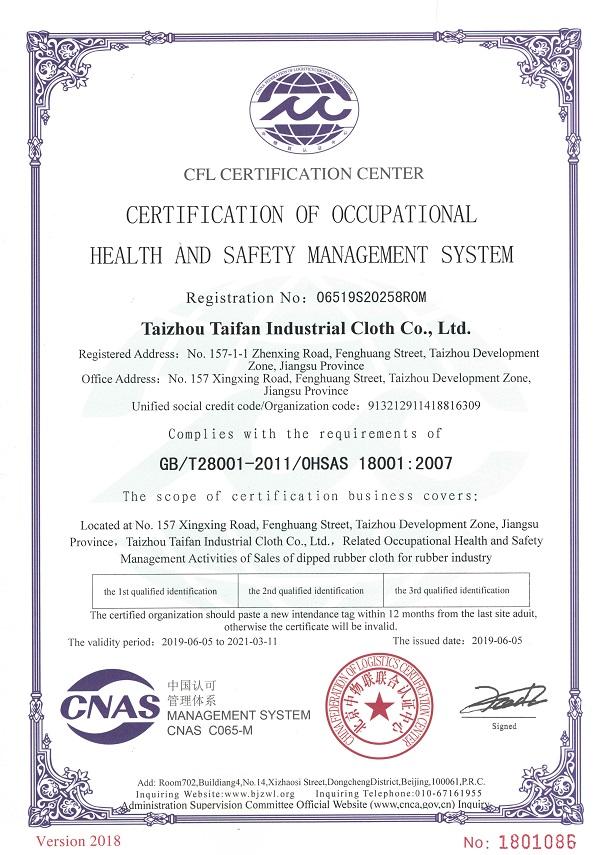 OHSAS18001:2007职业健康安全管理体系英文版